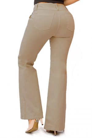 Pantalón de Color para Mujer Bota Campana