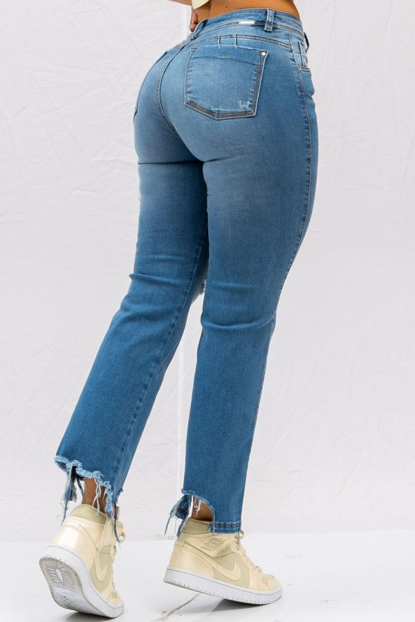 jeans mom flare