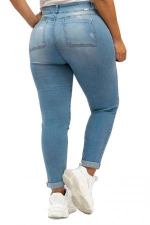 Jean para mujer Tallas Grandes con Rotos
