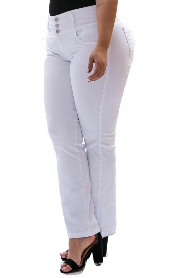Pantalón Farichi Bota Recta Blanco